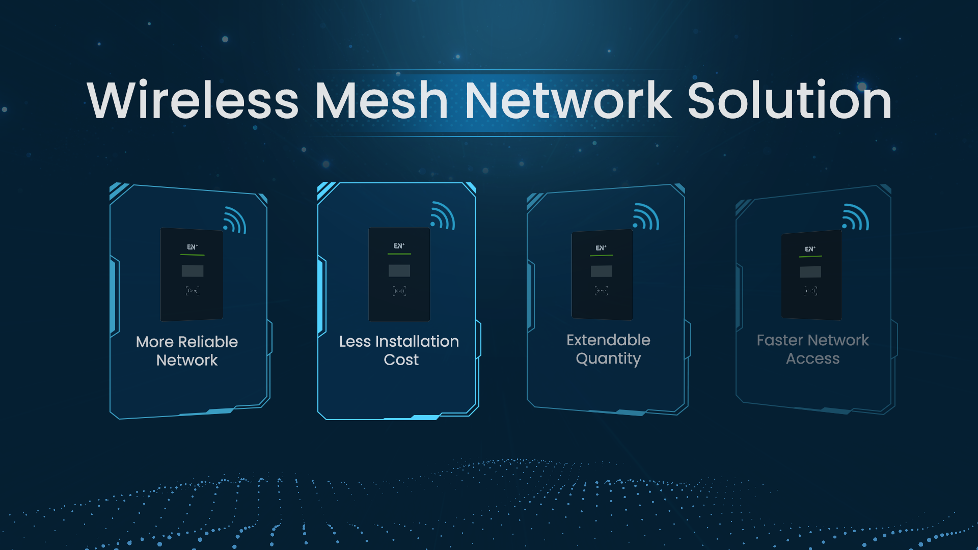 How to Build Your Wireless Mesh Charging Network?
