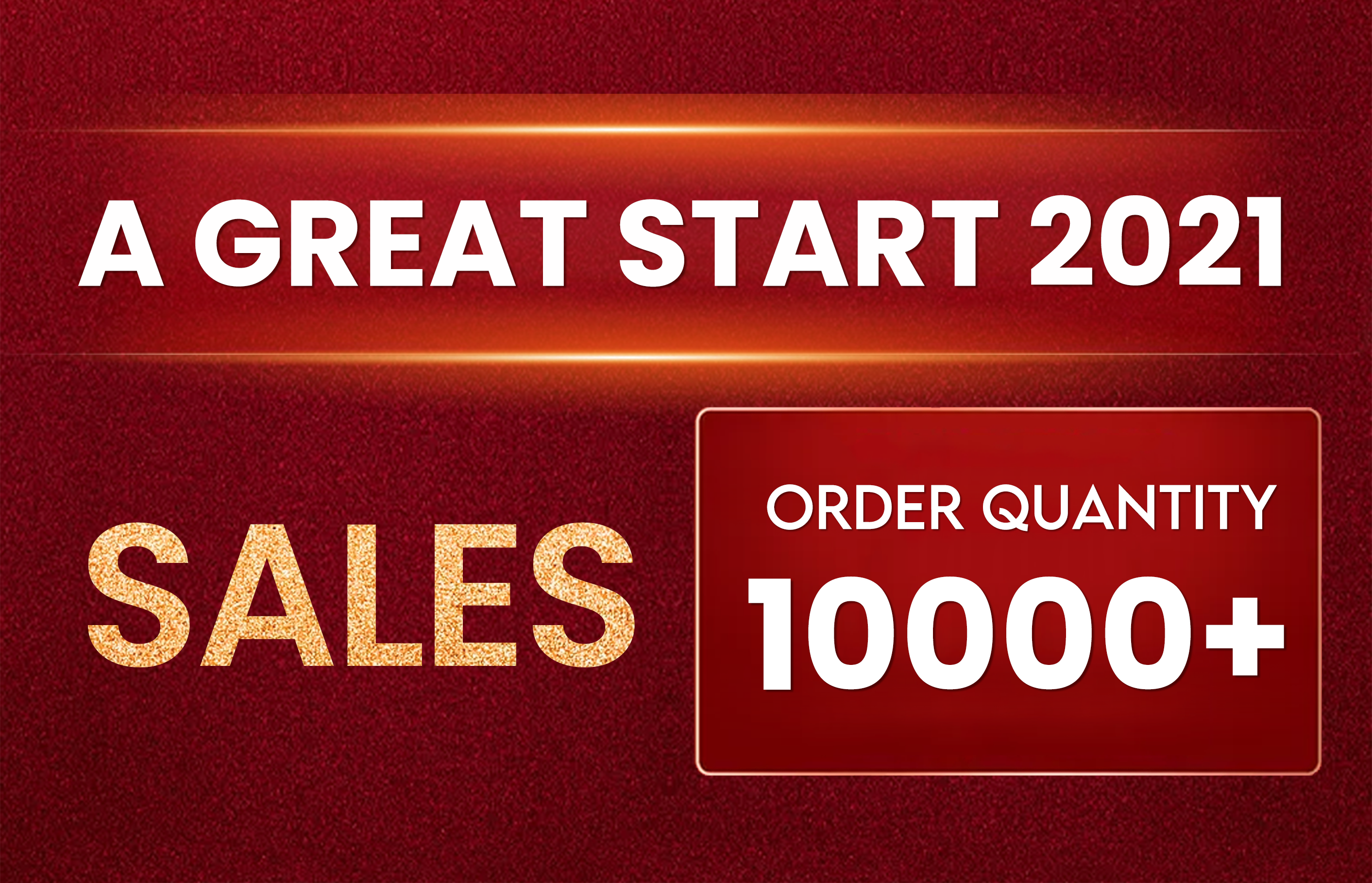 A Great Start to 2021 with Sales of over 10,000 in February