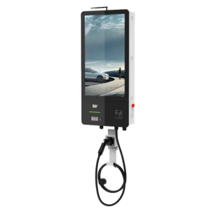 """Good quality Ev Charging Wallbox - 7kW~14kW AC Advertising Charging Station with 32"""" LCD screen – EN-plus"""