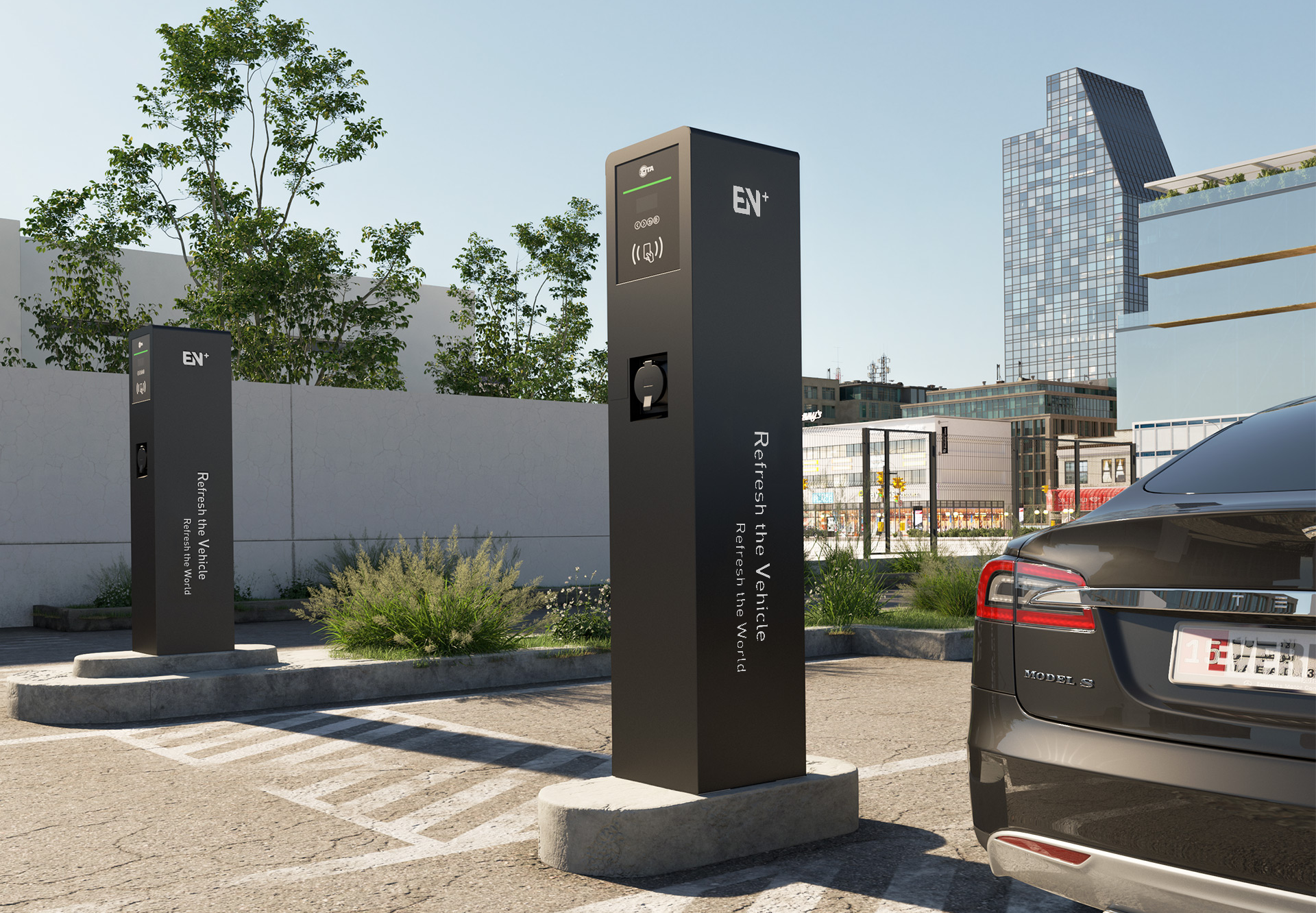 Commercial Charging Solution for Your Business